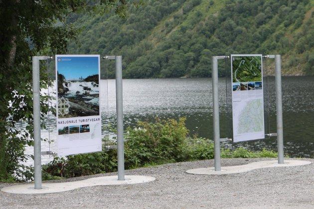 Nasjonal turistveg Gaularfjellet rasteplass