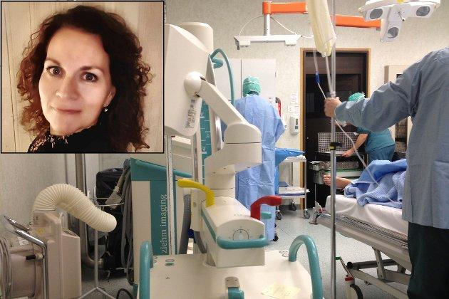 Helse. Førde. Sjukehus. Operasjon. Anestesi. Sjukepleiar. Sentralsjukehus (ved bruk i 2013 og 2014 - dropp kreditering av fotograf).