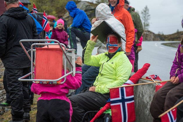 Tour des Fjords på Rørvikfjellet.