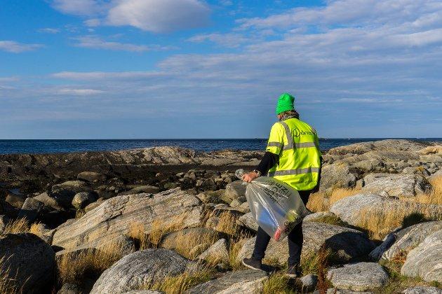 BOSS: – Det er sugerør, drikkebegre, emballasje, ballongpinner, utstyr fra fiskeri og mye mer. Produsentene av disse produktene kan gjøre noe for å begrense forsøplingen, skriv Marianne Haugland i KS Bedrift.