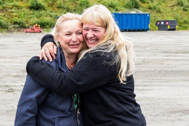 Monica Kornter (t.v) og Kari Ann Sleire gleda seg til å starte festivalhelga i 2015.