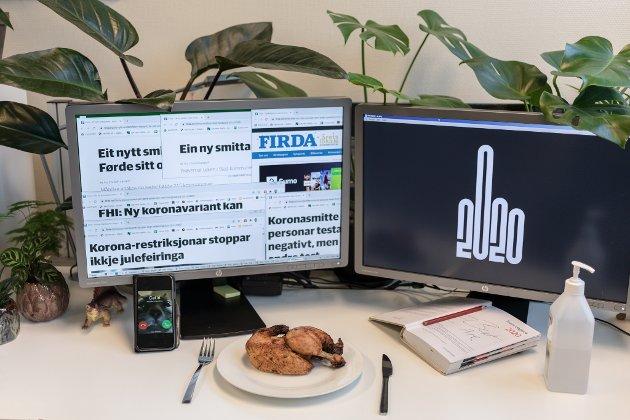 Firda-journalist Bent Are Iversen tel opp kva han har lært i året som gjekk. (Illustrasjonsbilde. Kyllingen på bildet har ingen relasjon til saka.)