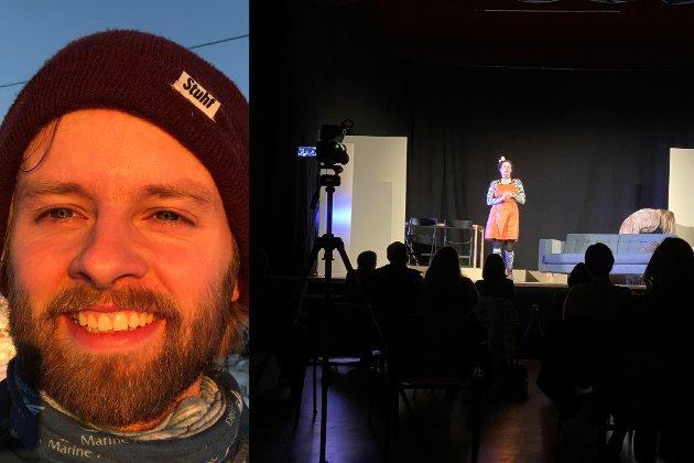 HAUSTA LATTER: Publikums latter sat laust gjennom framsyninga, skriv meldaren.