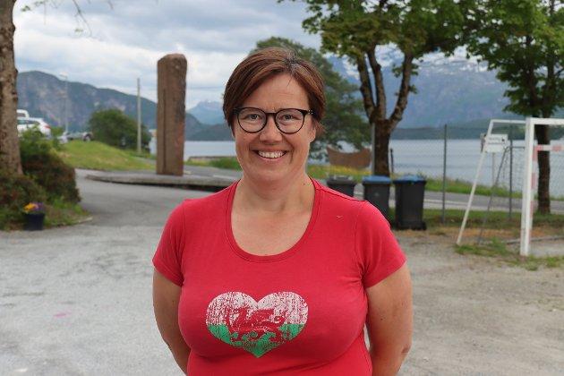 YTTRING: Hege Lothe er førstekandidat for SV ved Stortingsvalet.