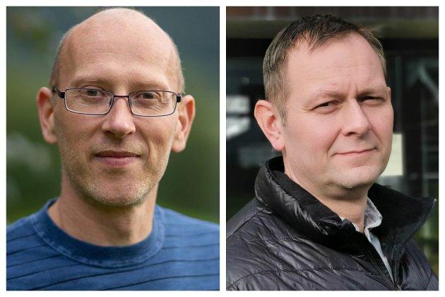 Leif Jarle Espedal, varaordførar AP og Kjetil Høgseth Felde, Ordførar SP i Fjaler svarar på kritikken dei har fått for manglande satsing på nye bustadtomtar i kommunen.