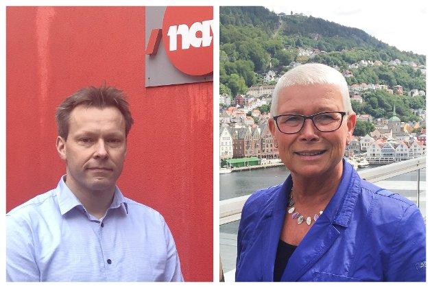 I Sunnfjord har vi fleire eksempel på bedrifter som gjerne rekrutterer kandidatar som har vore ledige ei stund, skriv Magne Kjetil Berg og Anne Kverneland Bogsnes frå Nav..