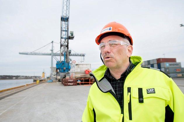 Provoserte Moss: Tore Lundestad er havnedirektør i Borg som har provosert politikere i Moss og styremedlemmer i Moss Havn slik at de ser det som nærmest umulig å få til et tettere samarbeid mellom havnene.
