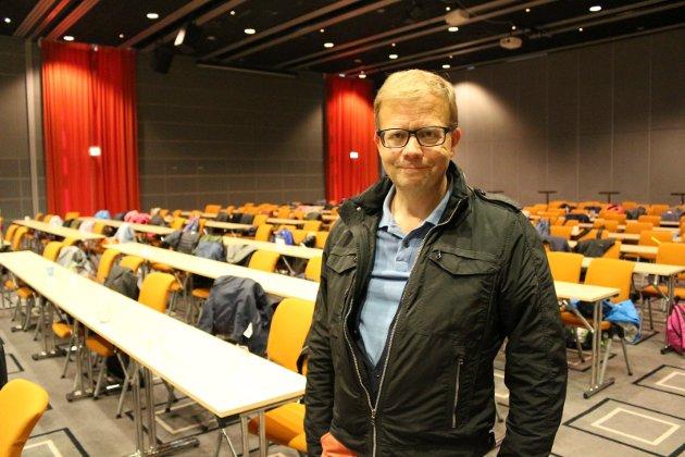 Roald Gulbrandsen mener det er all mulig grunn til å glede seg over at fagskolene skal bli mer synlige.
