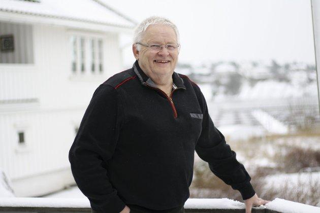 Gikk bort: – Det er slik vi vil huske ham – Gresvik IF til det siste, skriver venner i idrettslaget om avdøde Svein Halvorsen. Foto: Hege Mølnvik