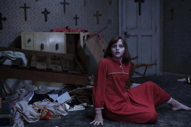 Skummelt igjen: «The Conjuring 2» ligger tett opp til eneren stilmessig, og leverer kvalitet igjen.Foto: filmweb.no