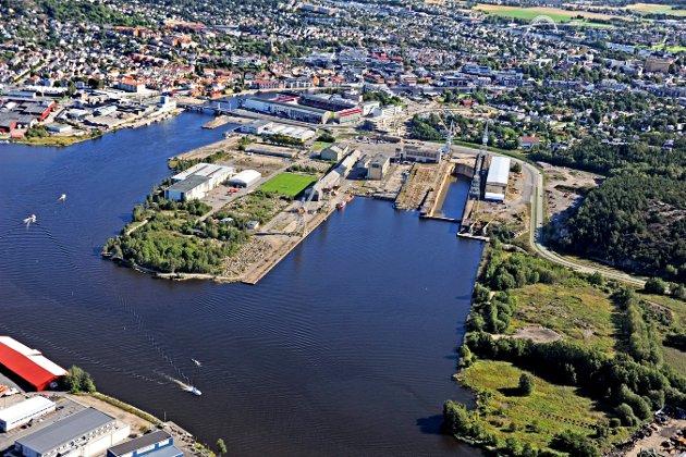 FMV peker seg ut for en ny Frederik II, skrev Fredriksstad Blad i forrige uke. Etter planen skal skolen bygges fra 2018 til 2020 og få rundt 1.400 elever. – Men hva skjer når skolen trolig må bygges ut, spør Bjørn Skaug.