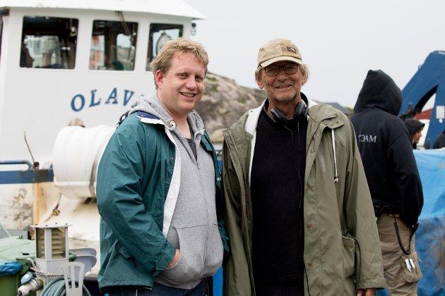 Kinosjef Jørgen Søderberg Jansen var i forrige uke statist i den nye Karste og Petra-filmen som Arne Lindtner Næss har regien for.