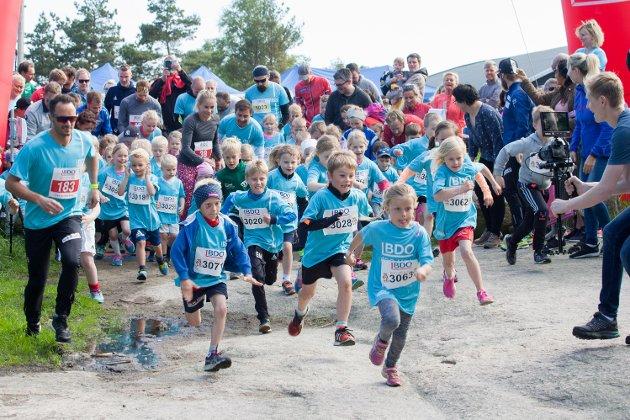 Rekordstort oppmøte da BDO-mila ble arrangert i Fredrikstad for tredje gang.