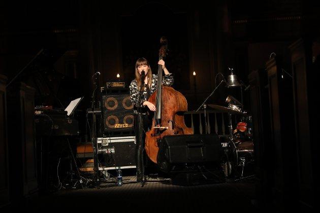 Årets vinterjazzfestival startet med Ellen Andrea Wang Trio i Østre Fredrikstad kirke.