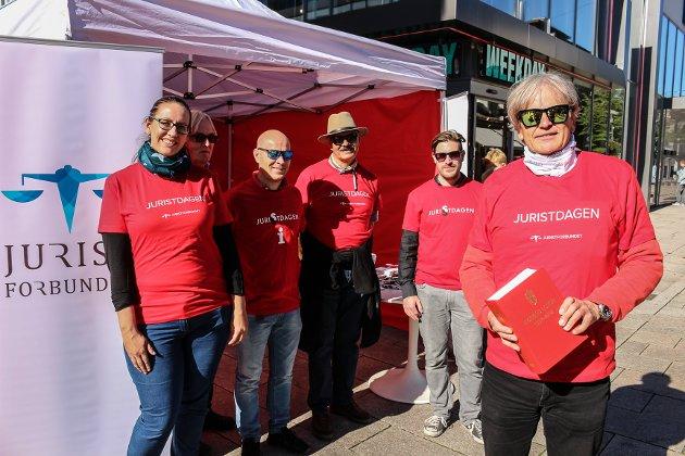 Bilde fra Juristdagen i Fredrikstad i 2018.