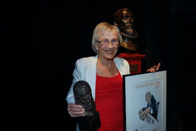 JANUAR: Året startet med utdelingen av Frederikprisen, og konsertpianist og pianolærer Wenche Tuman Johnsen vant hedersprisen for 2018.