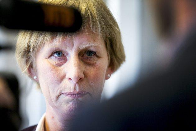 Exit: NAVs ytelsesdirektør Kjersti Monland gikk denne uken av som følge av trygdeskandalen. Men både Nav-direktøren og statsråden blir foreløpig sittende.
