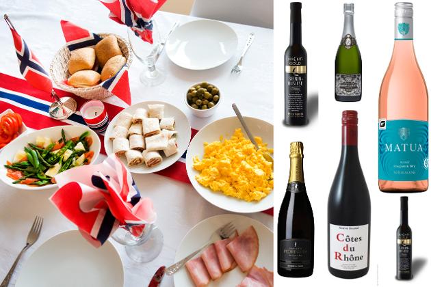 TIPS: Vinspaltist Cato Larsen kommer med sine anbefalinger til 17. mai-bordet. Her er det både bobler, rødvin, rosé og en søt avslutning.