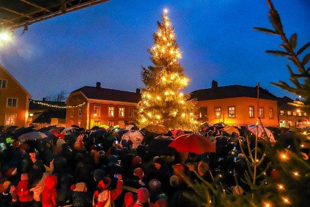 POTENSIAL: Innsenderen av dette leserbrevet mener julen i Gamlebyen har et stort potensial når det gjelder å trekke turister til Fredrikstad.