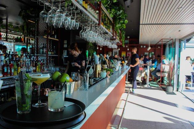 Slik ser baren ut på Savoy