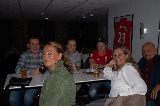 Vidar, Nina, Johnny, Jukka, Hilde og Marianne.
