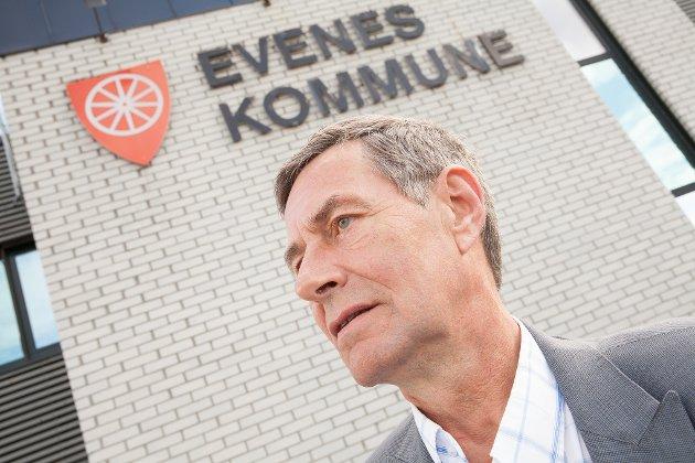 Steinar Sørensen, rådmann Evenes kommune. Arkivfoto