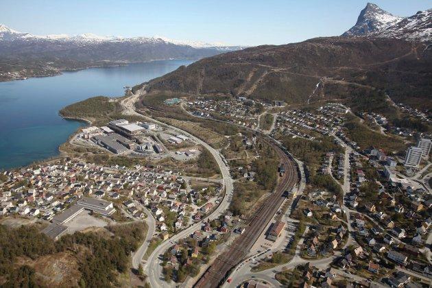 Flyfoto, Narvik, Teknologiparken