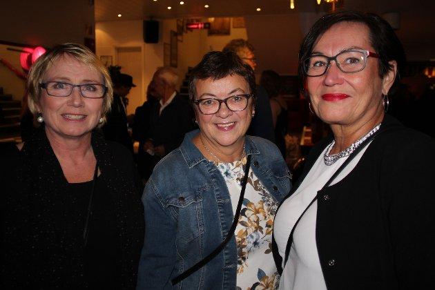 Fra Norges Korforbund: Kirsti Maranos, Berit Simonsen og Helen Agledal