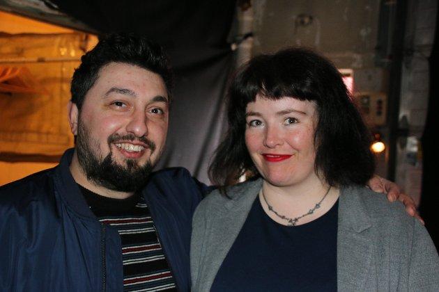 Maria Aas og Akop Grigorjan