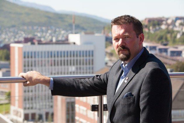 Svein Erik Kristiansen, direktør i Narvikregionens næringsforening