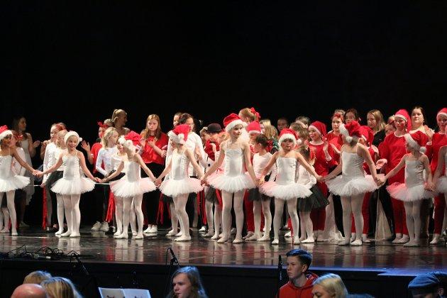 DANSERE: Illustrasjonsfoto fra kulturskolens juleforestilling 2019.