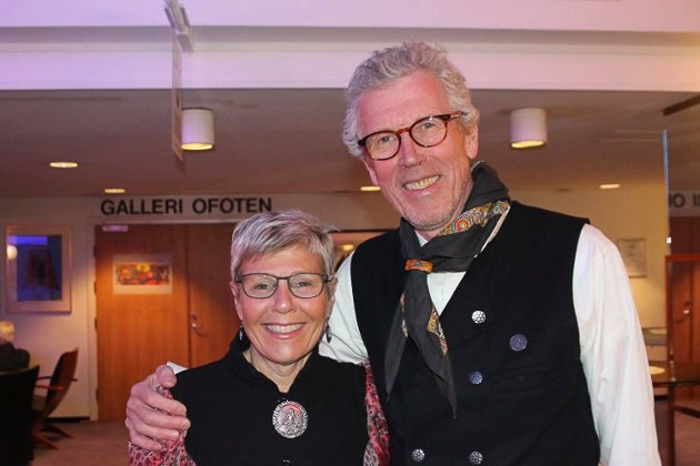 Bodil Eilertsen og Arne Kirkerud