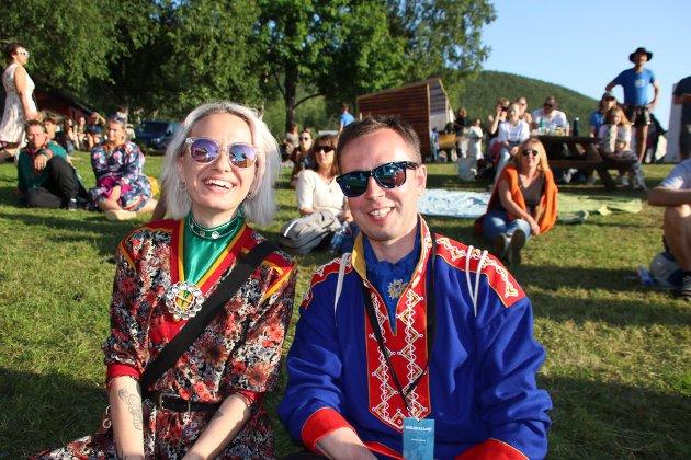 Russiske gjester; Elizaveta Musjel og Andrej Zhvavyi
