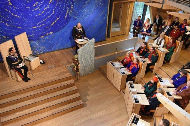 – URFOLK: «Sametinget representerer ett folk – samene – Norges urfolk», leste Kongen opp under åpningen av det 8. Sameting, skriver Karl-Wilhelm Sirkka i dette debattinnlegget.