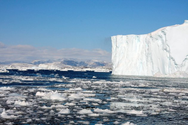 IS SOM SMELTER: Man kan ikke bevise at slike hendelser stammer fra menneskeskapte klimaendringer, men de faller inn i et mønster som er forventet i en varmere verden.