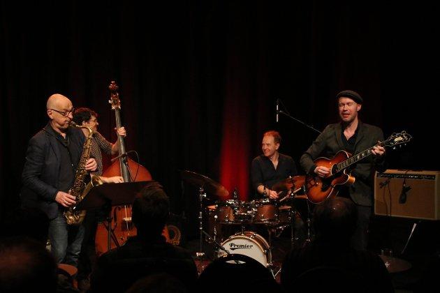 PLATEAKTUELLE: Håvard Stubø Quartet.