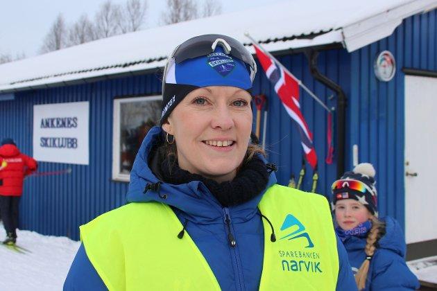 Rennleder Kristine Foshaug hadde stålkontroll på arrangementet.