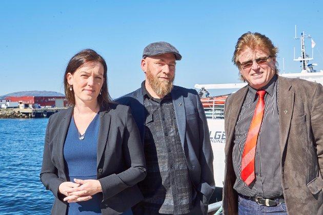 Geir Jørgensen, Synne Bjørbæk, Per-Gunnar Skotåm, Rødts fylkestingsgruppe i Nordland