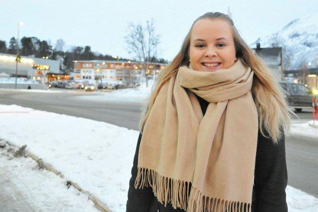 Gitte Øgård (22) er fylkesleder i Nordland Unge Høyre