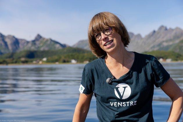 Ida Gudding Johnsen, stortingskandidat for Nordland og Venstre.