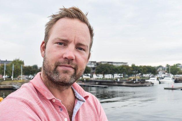 UTEOMRÅDER: Private uteplasser og fri ferdsel kan være vanskelig å få til på Gamlehorten gjestegård, skriver lokalpolitiker i Høyre, Niklas Cederby.