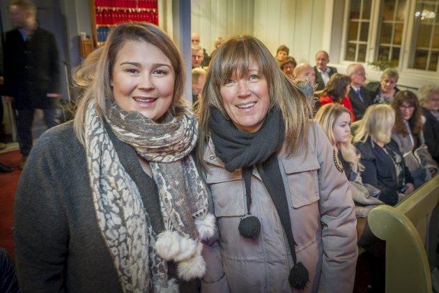 Ro i sjela: Julekonserten i Vinger kirke er noe Malin Såtvedt (t.v.), og Hilde Fjellum må ha med seg hvert år.
