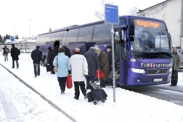 LEGGER NED: I 20 år har Nettbuss kjørt ekspressbuss mellom Oslo og Kongsvinger, men nå er det slutt. FOTO: OLE-JOHNNY MYHRVOLD