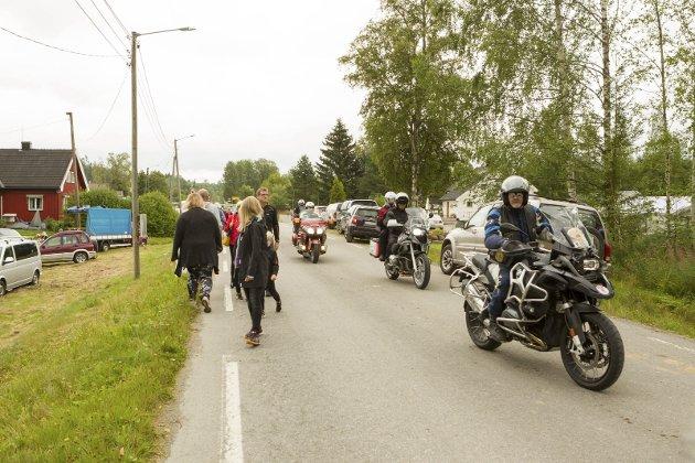 Militære Veteraners Motorsykkelklubb på Austmarkadagen.