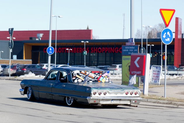 Raggarfesten i Charlottenberg.