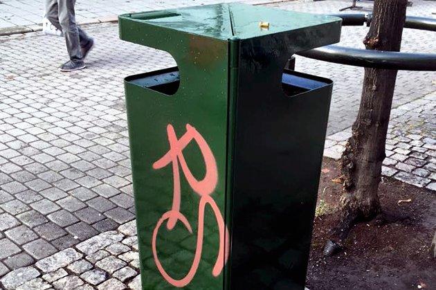 Flere søppelkasser vil bidra til en triveligere by, mener Per Arne Andersen.