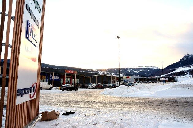 Vinstra Handelspark står ferdig. Onsdag åpnet den første butikken dørene.