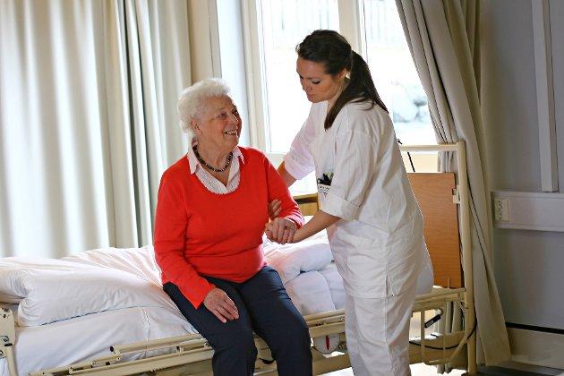 RESSURSER: Helsefagstudentene er på tur ut på arbeidsplassene, i praksis eller sommerjobb.