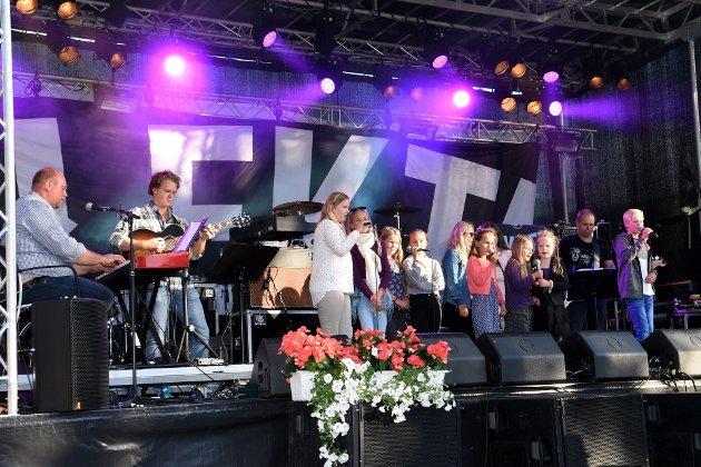 Illustrasjonsfoto fra konsert med blant andre barnekoret fra kulturskolen i Nord-Fron.