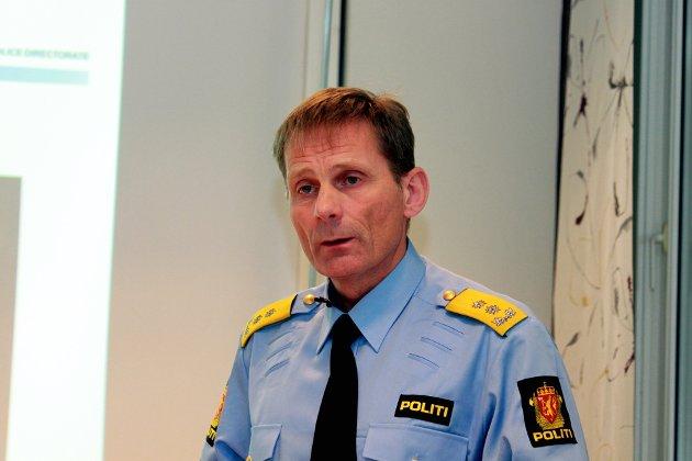 RESULTATER: – Det ingen tvil om at det vil ta tid før vi er i mål og ser alle resultatene, svarer politimester Joahn Brekke på kritikken av politireformen.
